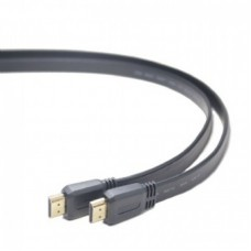 ΚΑΛΩΔΙΟ HDMI MALE-MALE FLAT CABLE 3m ΜΑΥΡΟ
