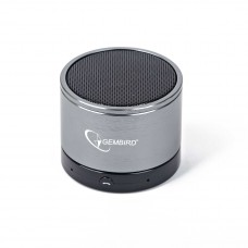 GEMBIRD ΗΧΕΙΟ BLUETOOTH SILVER, SPK-BT-002